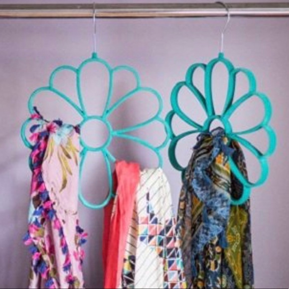 Accessories - Two Flower Scarf Hangers